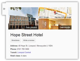 See Inside Hope Street Hotel
